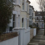 Not exactly a row of mansions but theses properties could come under the Mansion Tax