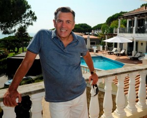 Dragons' Den star Duncan Bannatyne. The health club magnate bought his luxurious Algarve retreat, which comes complete with five bedrooms, swimming pool and charming garden area, in 2014