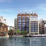 The Dockside development consists of one-, two- and three-bedroom apartments with prices starting at